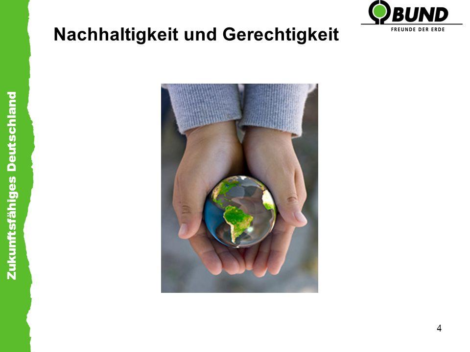 Zukunftsfähiges Deutschland 4 Nachhaltigkeit und Gerechtigkeit