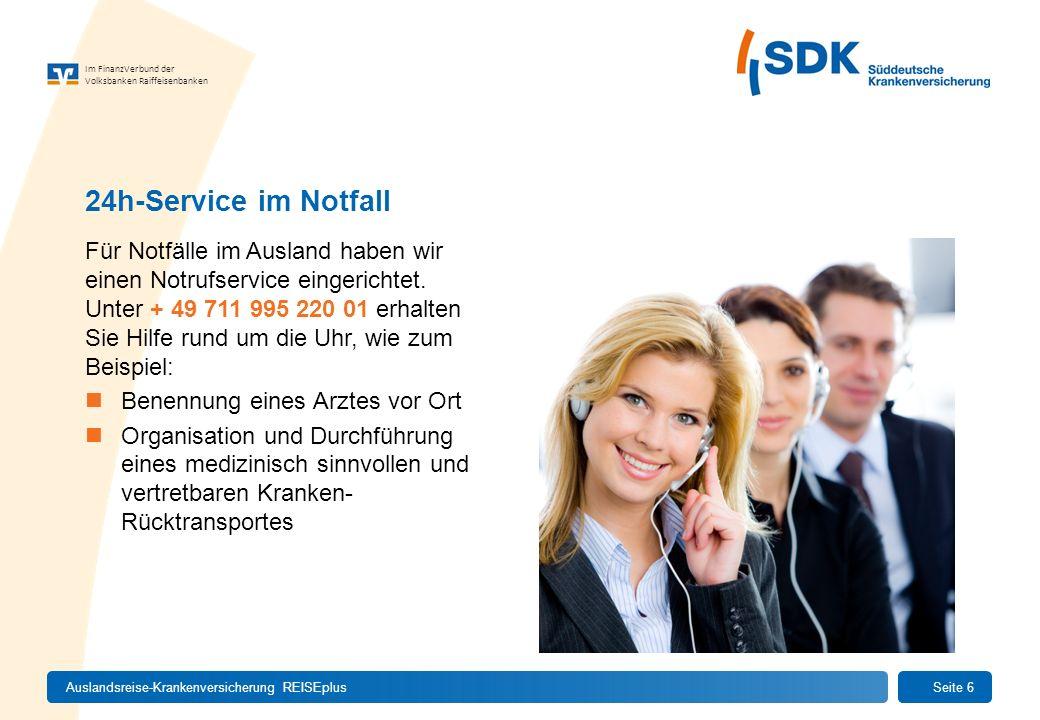 Im FinanzVerbund der Volksbanken Raiffeisenbanken Für Notfälle im Ausland haben wir einen Notrufservice eingerichtet. Unter + 49 711 995 220 01 erhalt
