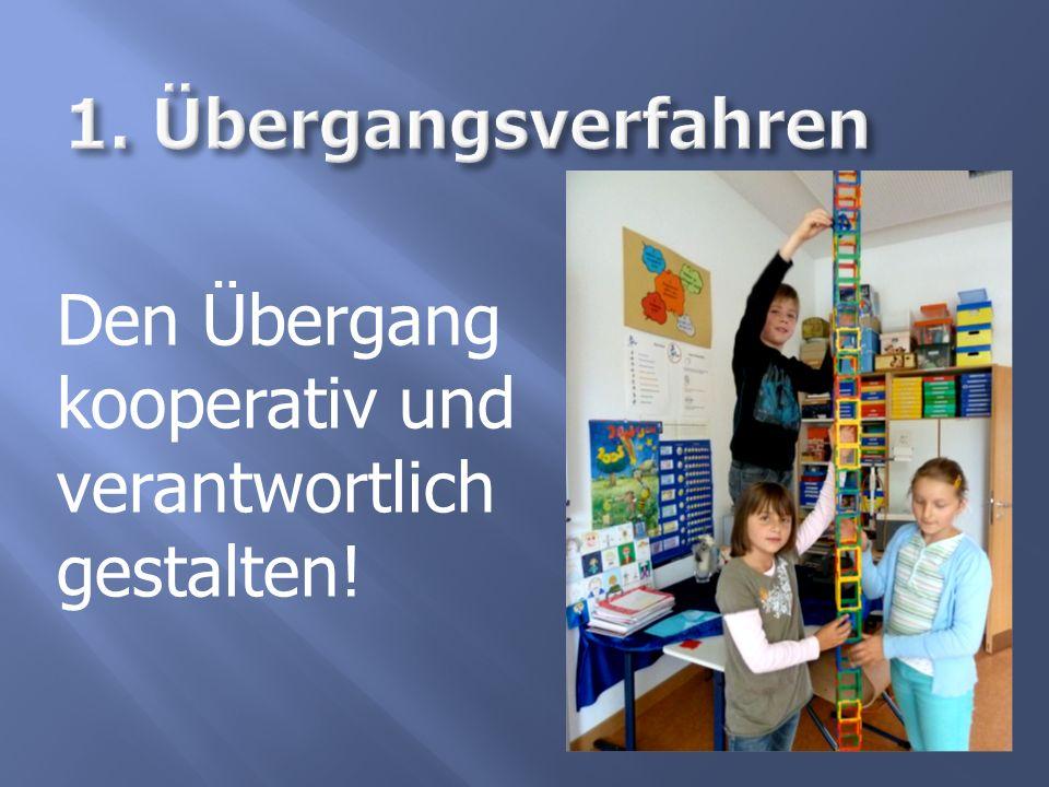 Den Übergang kooperativ und verantwortlich gestalten!