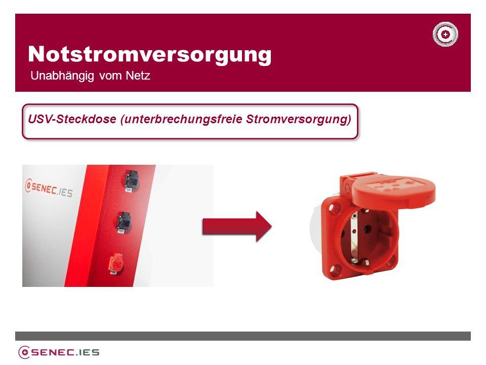 Notstromversorgung Unabhängig vom Netz USV-Steckdose (unterbrechungsfreie Stromversorgung)