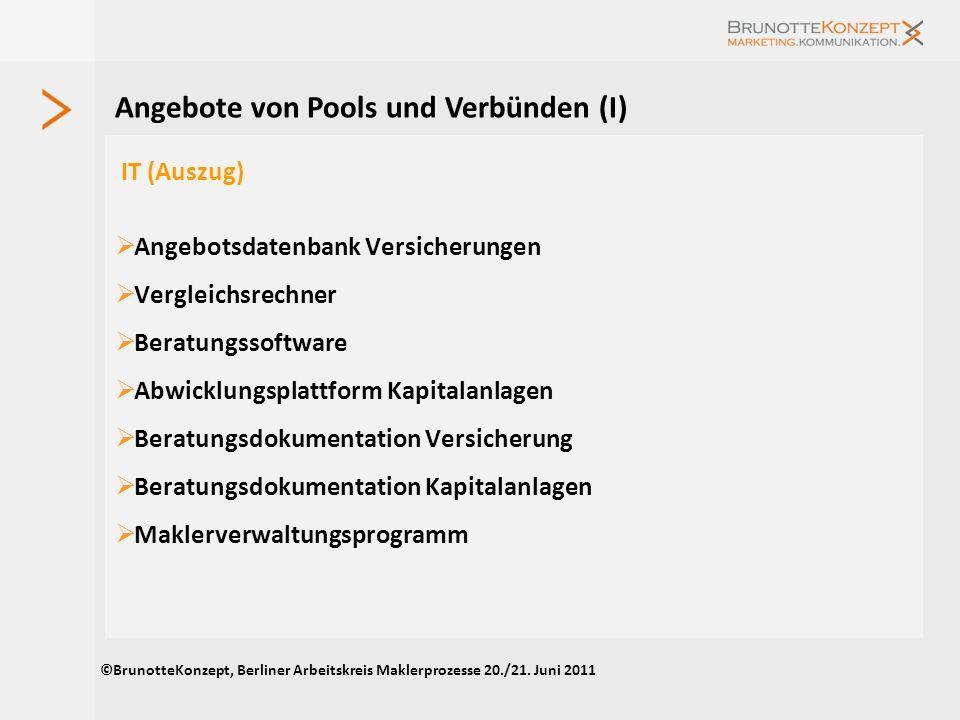 Mitgliedschaft in Verbänden Der Organisationsgrad von Pools und Verbünden ist gering Von 23 Unternehmen sind Mitglied bei Quelle: eigene Erhebung; Meh