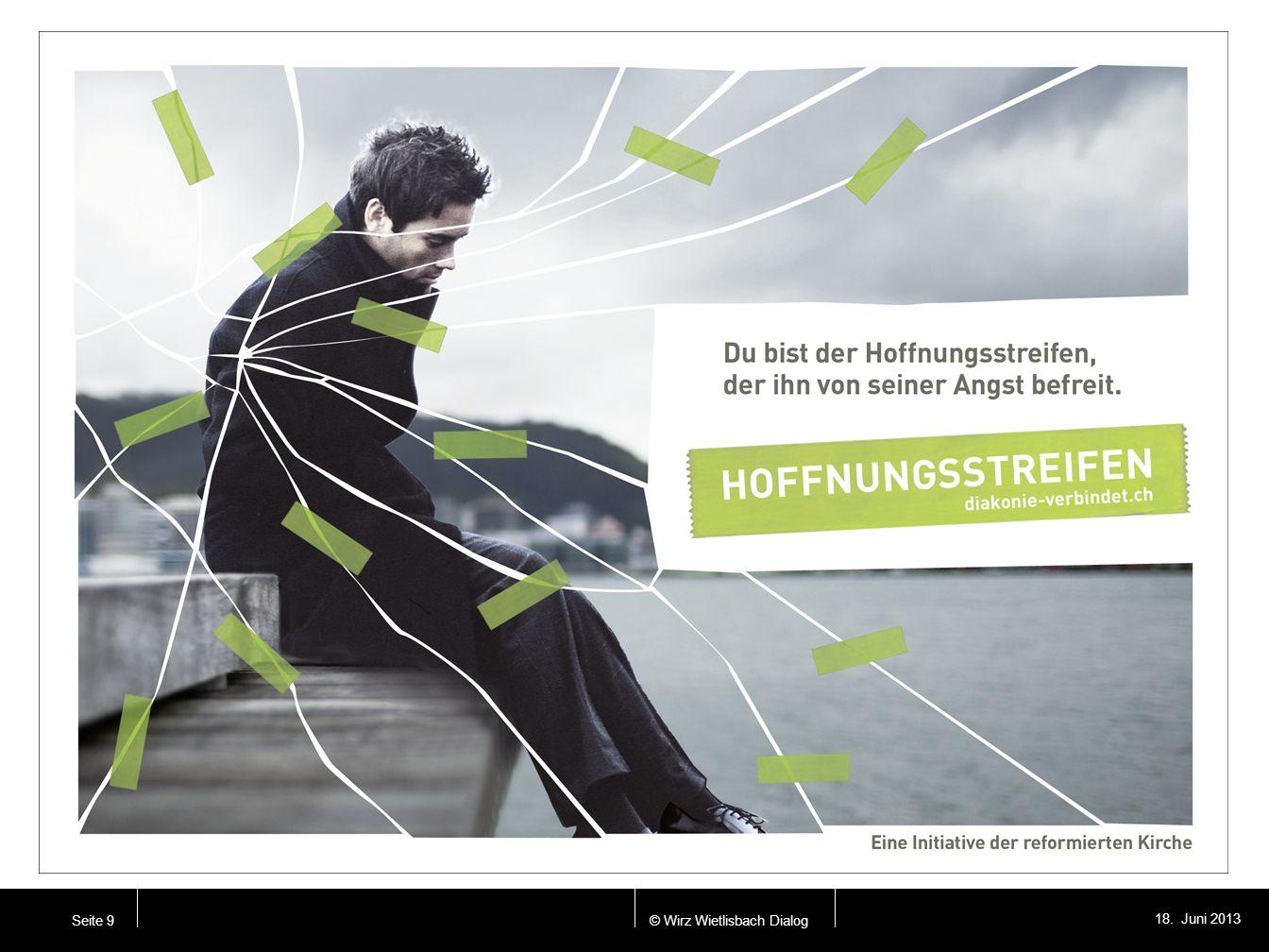 © Wirz Wietlisbach Dialog 18. Juni 2013 Seite 9