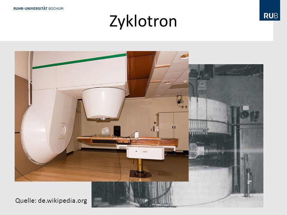 Zyklotron Quelle: de.wikipedia.org