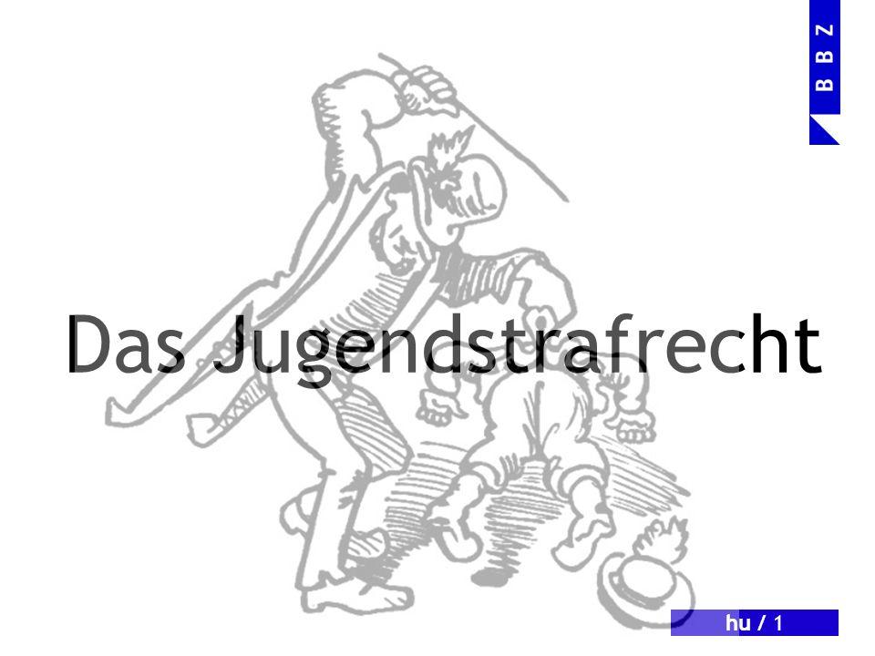 hu / 2 Ausmass der Jugendkriminalität 15064 Strafurteile im Jahr 2009 68 % Schweizer/innen 80 % männlich 25 % unter 15 Jahre alt Rückfallquote: 30 % (Quelle: Radio DRS v.