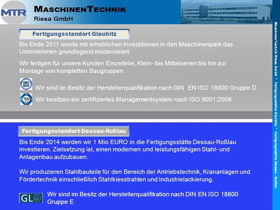 Bis Ende 2011 wurde mit erheblichen Investitionen in den Maschinenpark das Unternehmen grundlegend modernisiert. Wir fertigen für unsere Kunden Einzel