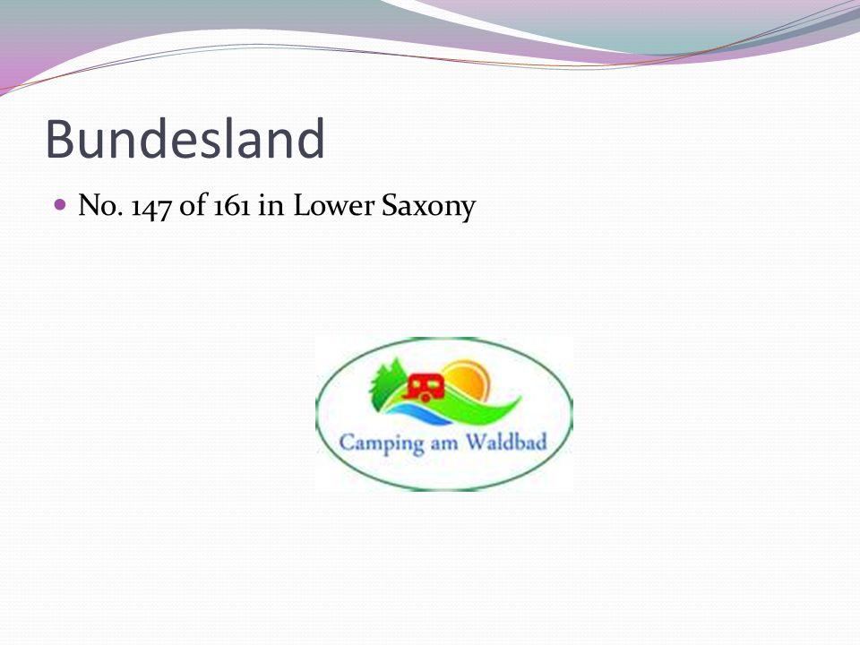 Bundesland No. 147 of 161 in Lower Saxony