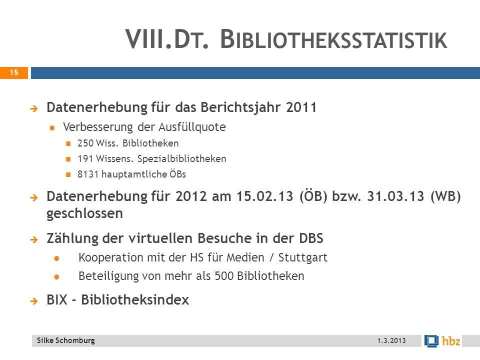Silke Schomburg VIII.D T.