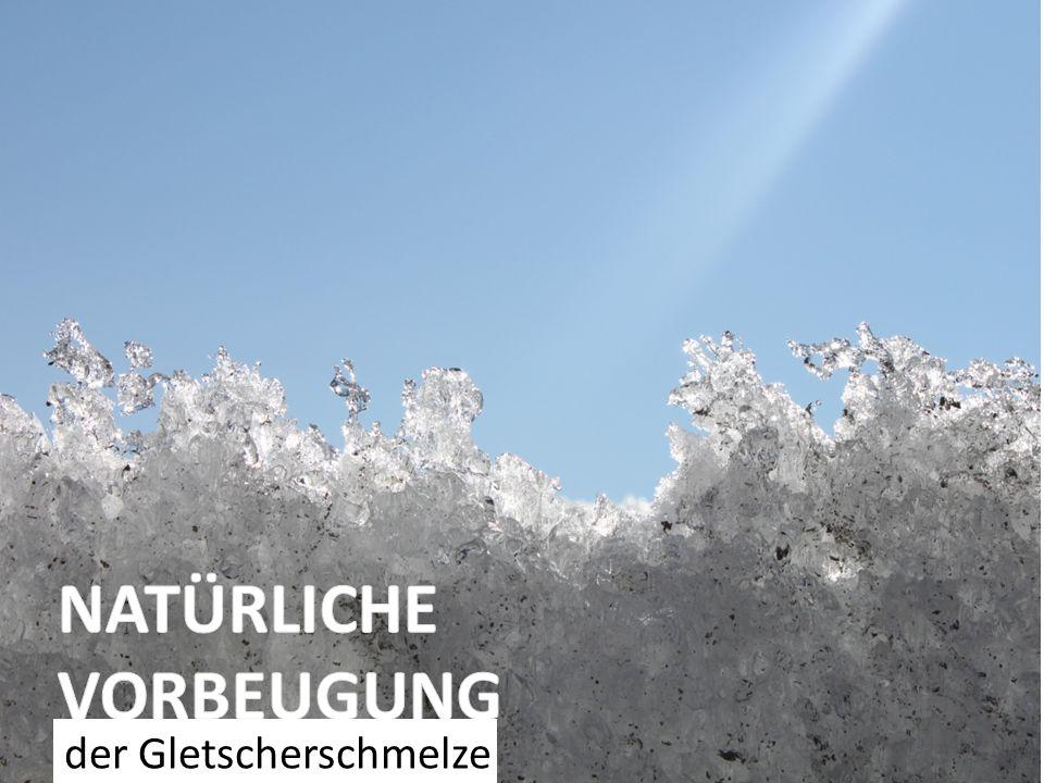 der Gletscherschmelze