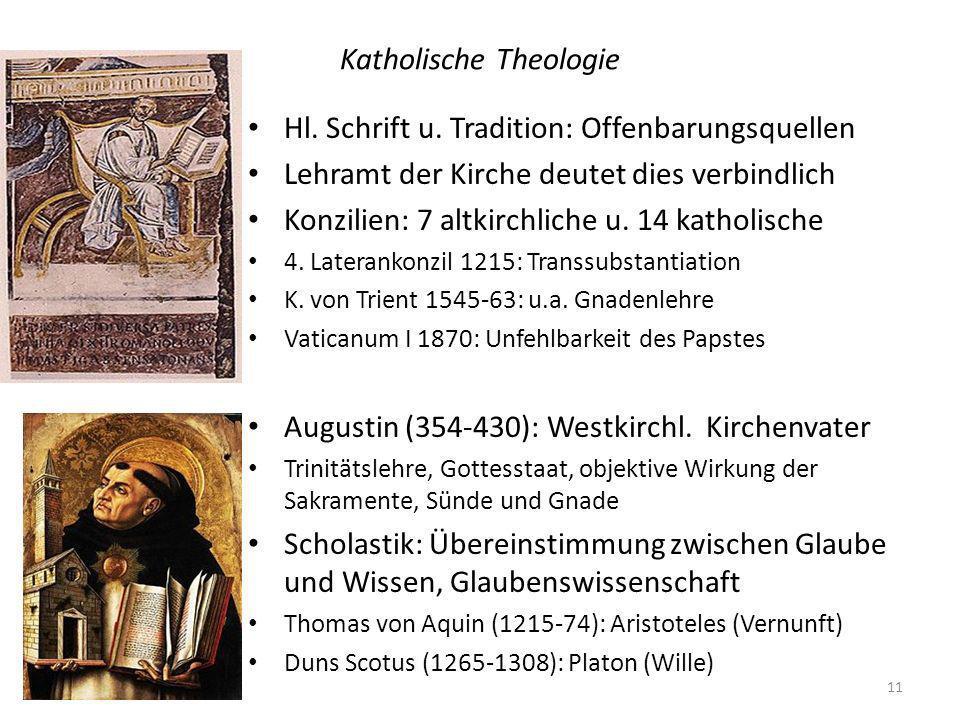 Katholische Theologie 11 Hl.Schrift u.
