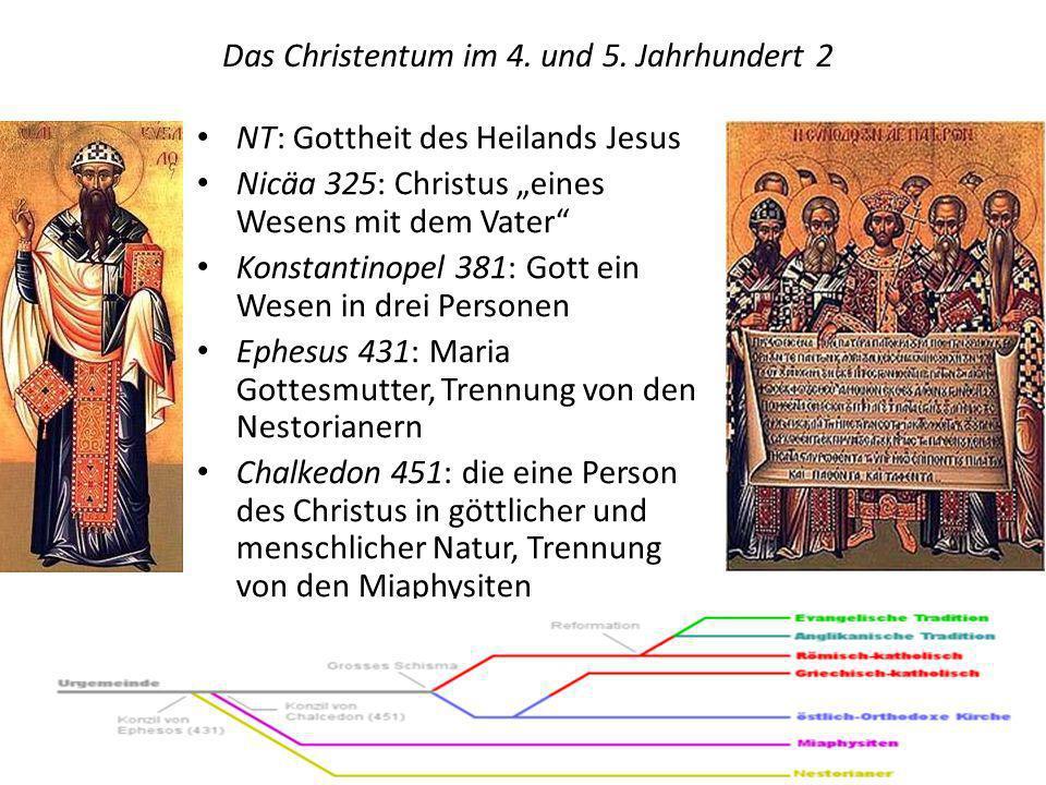 Entfremdung und Bruch zwischen Ost- und Westkirche und der Weg der orthodoxen und unierten Kirchen Konkurrenz zwischen Konstantinopel u.
