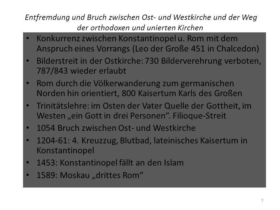 Mission und Ökumene Unsystematische Ausbreitung des Glaubens im römischen Reich in der Antike Missionierung der Germanen, Skandinavier u.