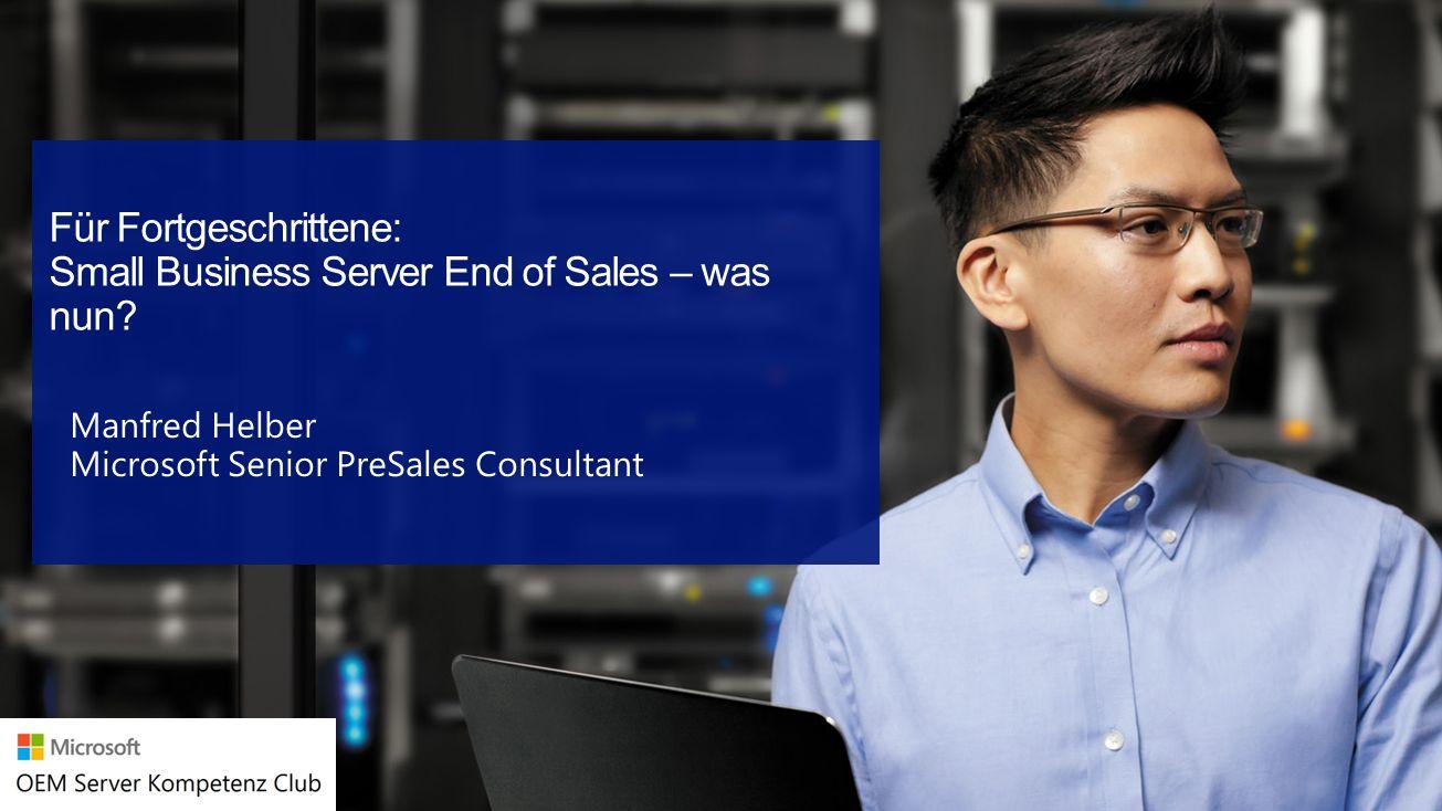 Agenda Windows Server 2012 R2 Essentials Edition WSEE Rolle in der Standard und Datacenter Edition Optionen für die Einbindung von Exchange, SQL & Co.