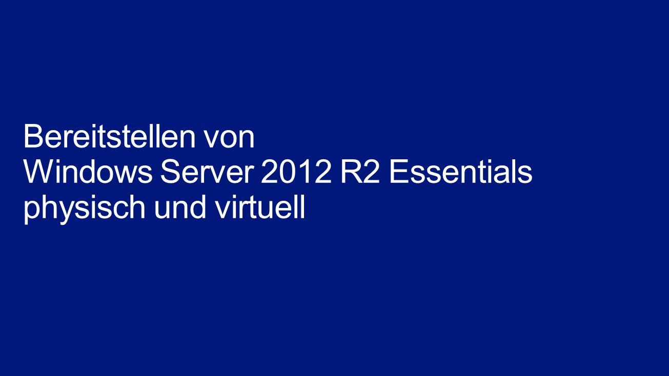 Designed for Windows Server Hardware Windows Server 2012 R2 Essentials