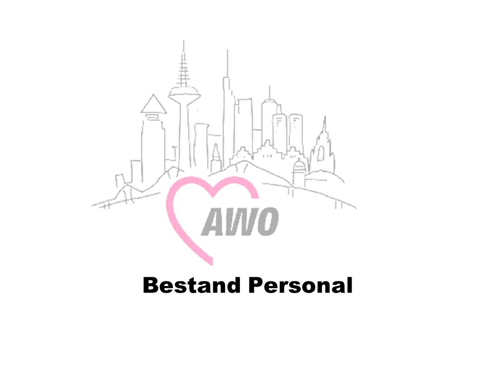 Bestand Personal