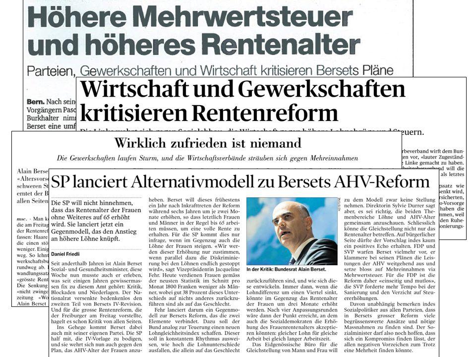17 «Eckwerte der Reform Altersvorsorge 2020» | Stiftungsversammlung Pro Senectute Schweiz | Freiburg, 25. Juni 2013 Jürg Brechbühl, Direktor Bundesamt