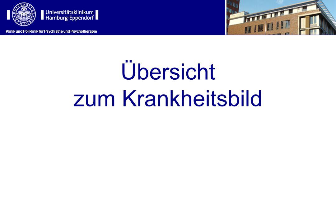 Klinik und Poliklinik für Psychiatrie und Psychotherapie Symptomatik Klinik und Poliklinik für Psychiatrie und Psychotherapie