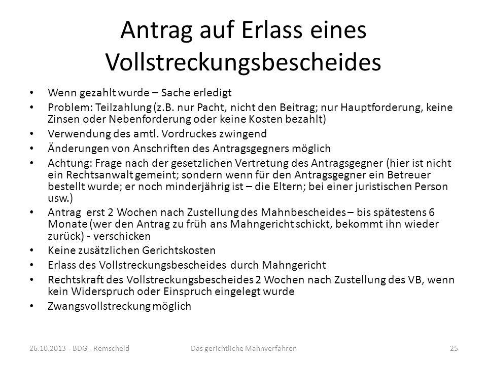 Ausfüllen eines Antrages www.online-mahnantrag.de An Hand der Erläuterungen soll ein Mahnantrag vollständig ausgefüllt werden Siehe Papier: Mahnverfah