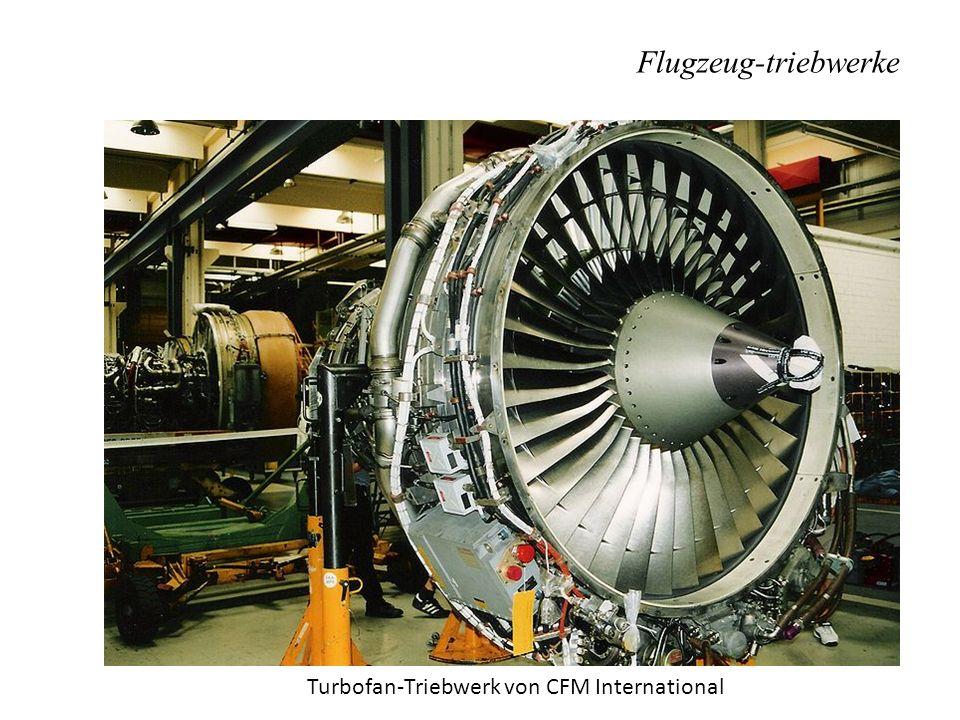 Flugzeug-triebwerke Turbofan-Triebwerk von CFM International