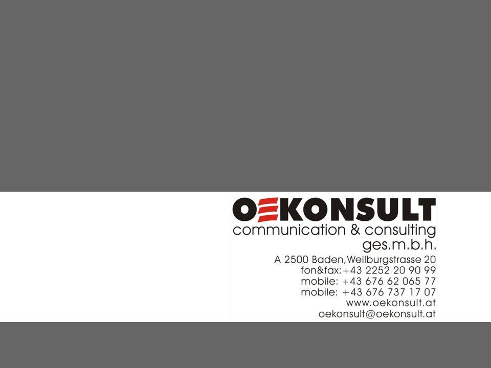 iQUEST - Methode Die OEKONSULT Interviewer erheben in einer Face-to-Face-Befragungssituation am jeweiligen Ort des Geschehens völlig anonymisierte Daten und liefern die Ergebnisse per Datenfunk, also in Echtzeit, direkt in unsere OEKONSULT Datenbank.