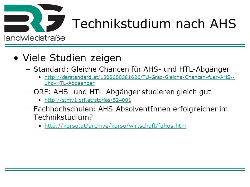 Oberstufenmöglichkeiten im AHS - Bereich BRG Landwiedstraße 4 Jahre (B)ORG Oberstufenrealgymnasium 4 oder 5 Jahre