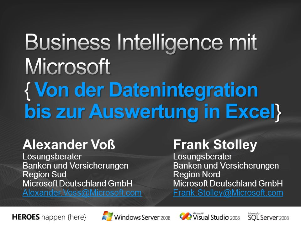 Vision & Strategie Plattform, Frontends & Applikationen Live Demos Referenzen Zusammenfassung