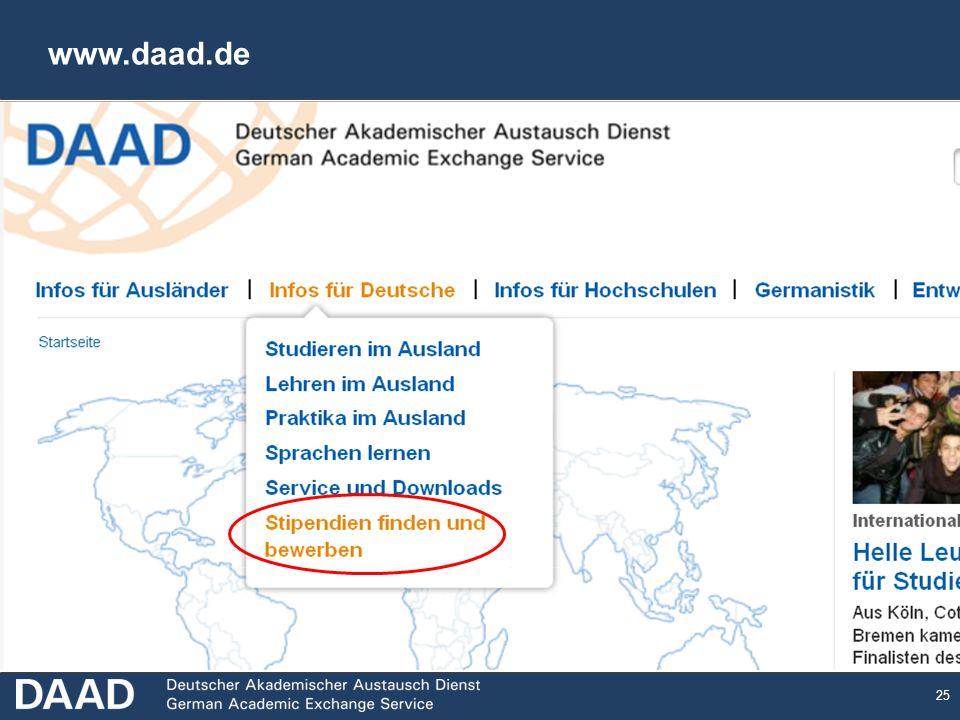 25 www.daad.de