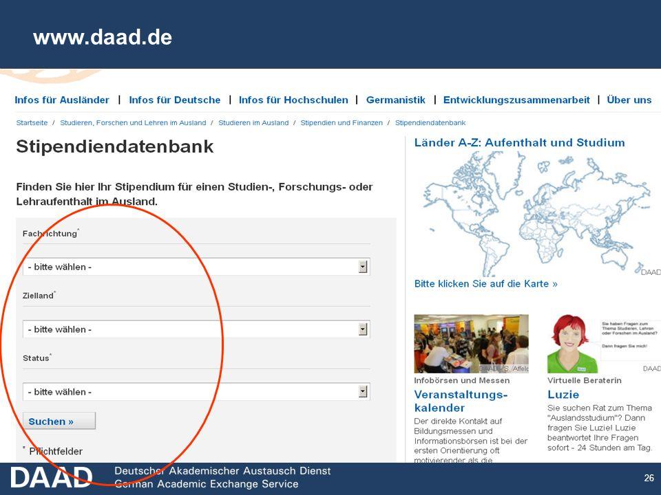 26 www.daad.de