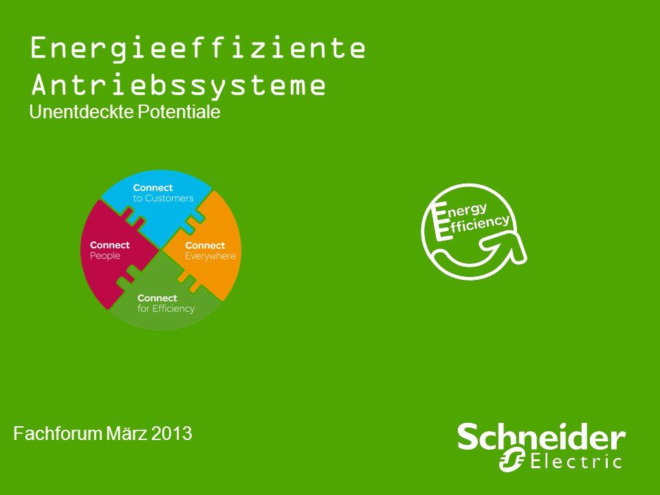 Energieeffiziente Antriebssysteme Unentdeckte Potentiale Fachforum März 2013