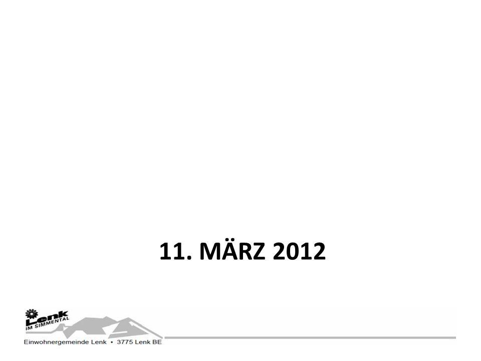 11. MÄRZ 2012