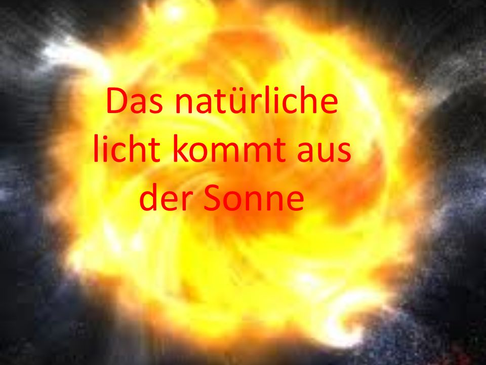 Im Inneren der Sonne entsteht das Licht