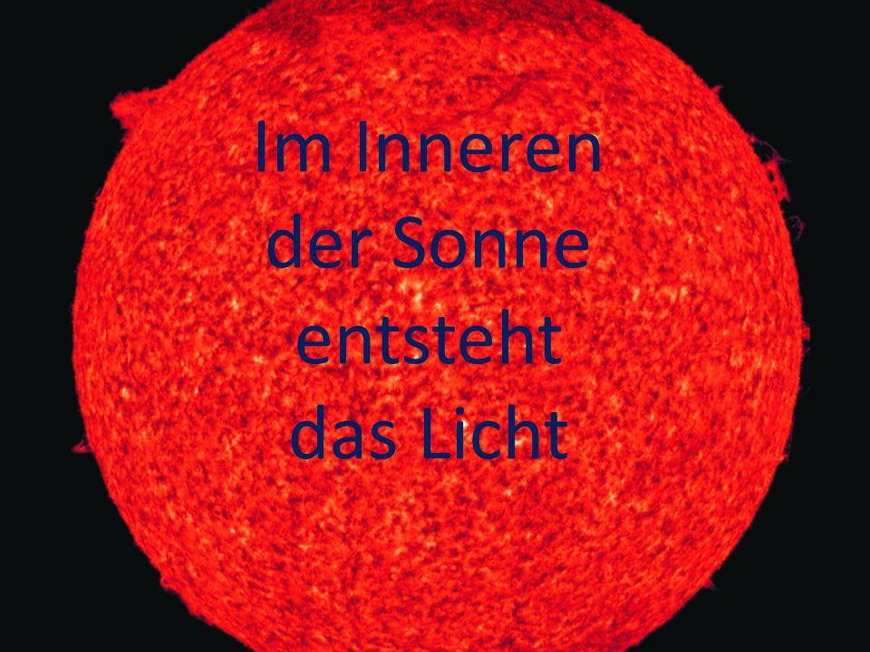 Diese Sonne wurde mit Röntgen- licht aufge- nommen