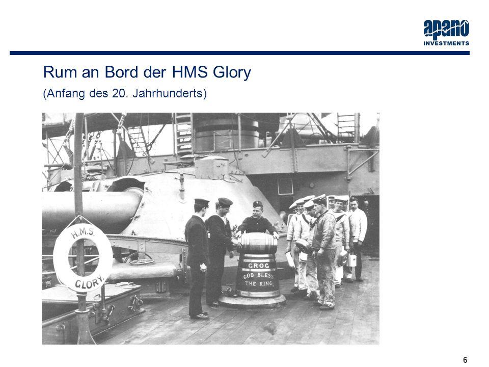 Das Netzwerk6 6 Rum an Bord der HMS Glory (Anfang des 20. Jahrhunderts)