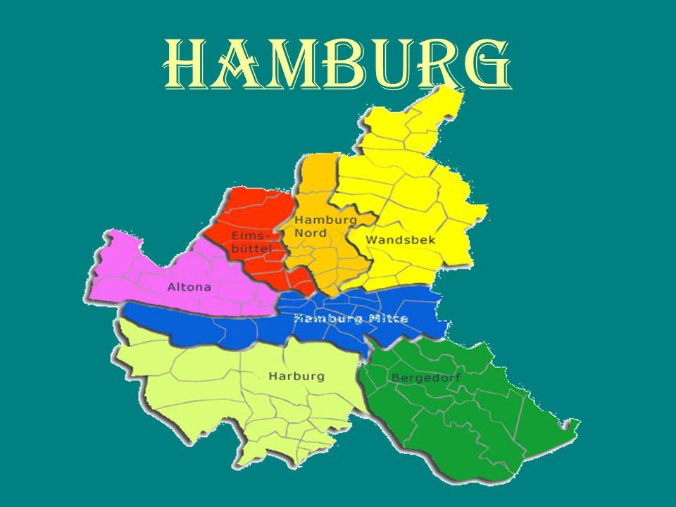 Hanburg Hamburg ist die zweitgrößte Stadt in Deutschland, hat in der Mitte 1.738.483 Einwohner und 4.000.000 in der Region.