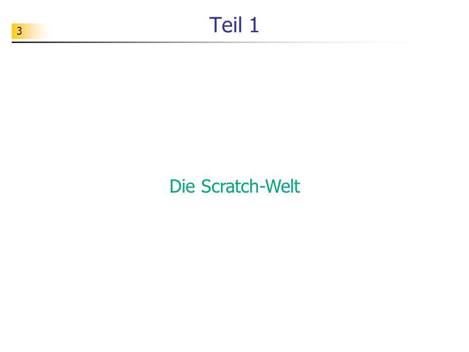 24 Übungen Aufgabe Entwickeln Sie weitere Scratch-Programme, die die bisher eingeführten Fachkonzepten verwenden.