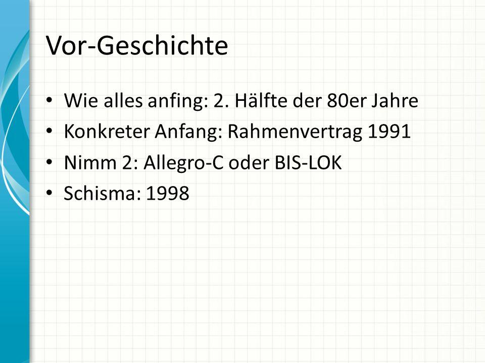 Vor-Geschichte Wie alles anfing: 2.