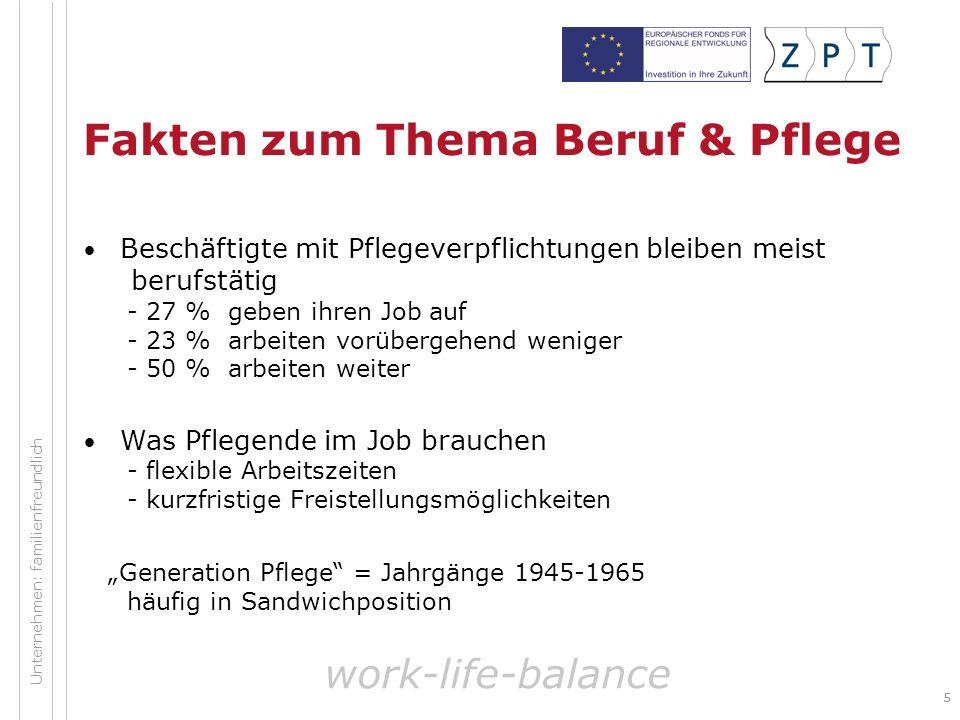 66 Arbeitsmarktveränderung durch Globalisierung Die Welt ist ein Dorf Der Wettbewerb um Arbeitskräfte wird global Manche Regionen sind besonders betroffen work-life-balance Unternehmen: familienfreundlich