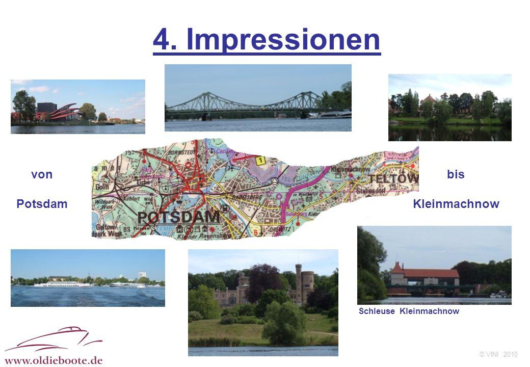 © VINI 2010 4. Impressionen von Potsdam bis Kleinmachnow Schleuse Kleinmachnow