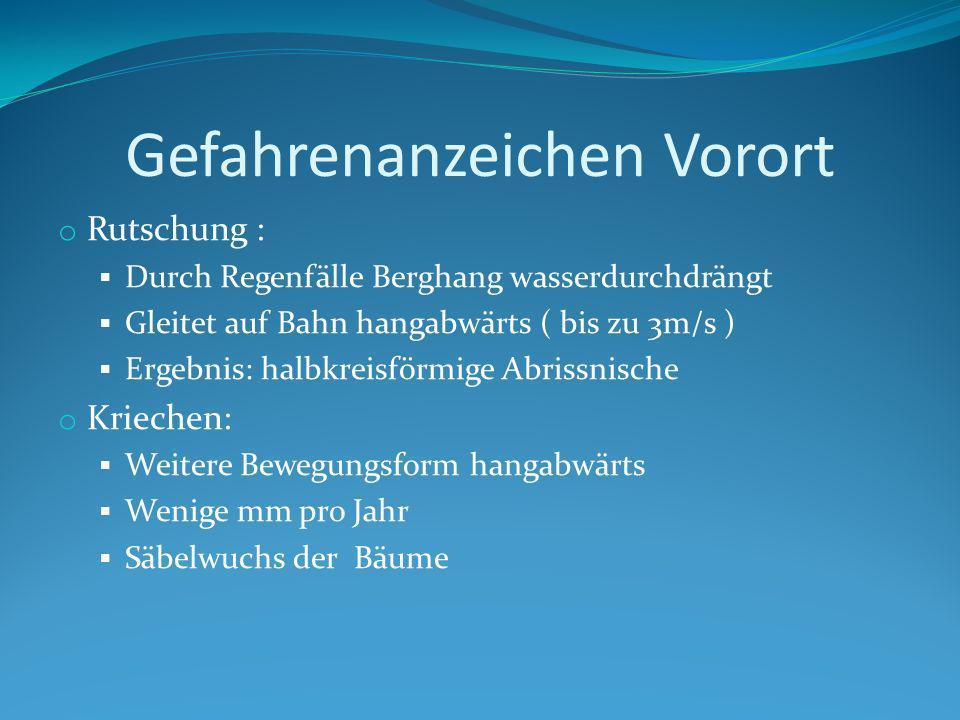 Fragestellung Besteht tatsächlich keine Gefahr für die Bevölkerung durch den Alperschonerbach? Sollte die Gemeinde Schutzmaßnahmen ergreifen?