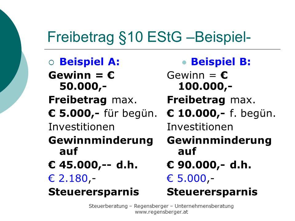 Steuerberatung – Regensberger – Unternehmensberatung www.regensberger.at Einstellung ab 30.6.07 Beruf muss im Förderprogamm des AMS enthalten sein (Kontakt mit AMS vor Einstellung notwendig) mehr Lehrlinge als zum 31.12.06 1.