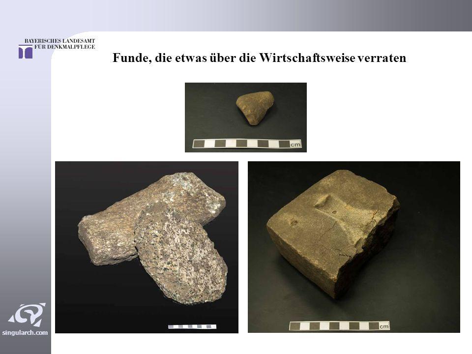 singularch.com Mittelkaiserzeitliches Fundmaterial Überwiegend aus den Brunnen