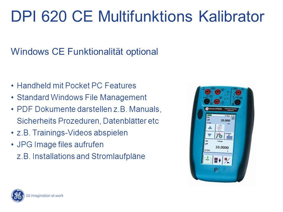 Handheld mit Pocket PC Features Standard Windows File Management PDF Dokumente darstellen z.B. Manuals, Sicherheits Prozeduren, Datenblätter etc z.B.