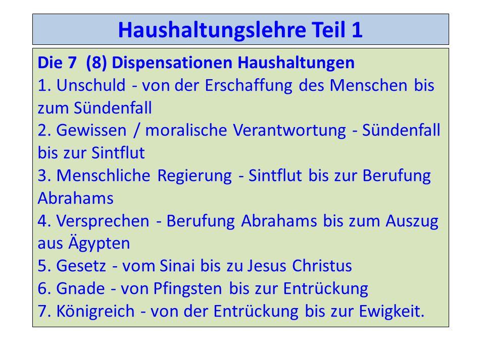 Haushaltungen Epheser 1.10 Verwaltung οκονομα (oikonomia) Vorkommen: 9; Stellen: 9; Übersetzungen: 1; Verwaltung (9x in 9 Stellen) Lat.