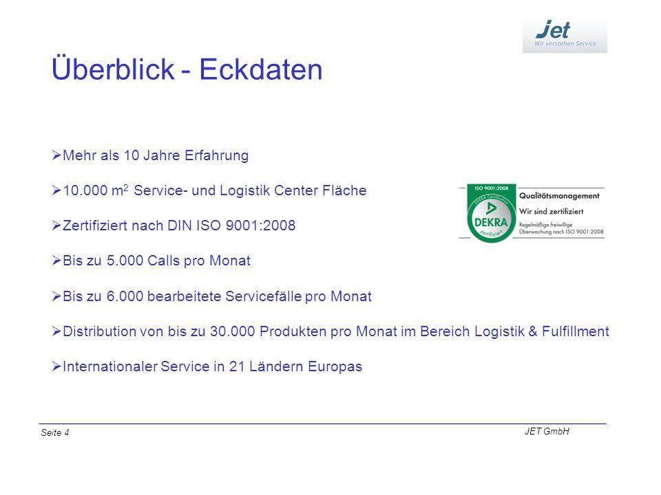 Überblick - Eckdaten Mehr als 10 Jahre Erfahrung 10.000 m 2 Service- und Logistik Center Fläche Zertifiziert nach DIN ISO 9001:2008 Bis zu 5.000 Calls