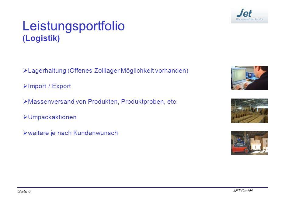Leistungsportfolio (Logistik) Lagerhaltung (Offenes Zolllager Möglichkeit vorhanden) Import / Export Massenversand von Produkten, Produktproben, etc.