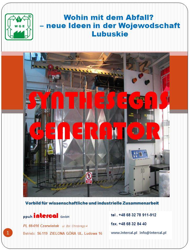 PPUH intercal GmbH PL 66-016 Czerwieńsk ul.Bol. Chrobrego 4 Betrieb: 56-119 ZIELONA GÓRA UL.