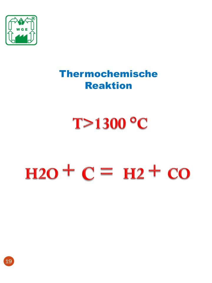 Thermochemische Reaktion 19