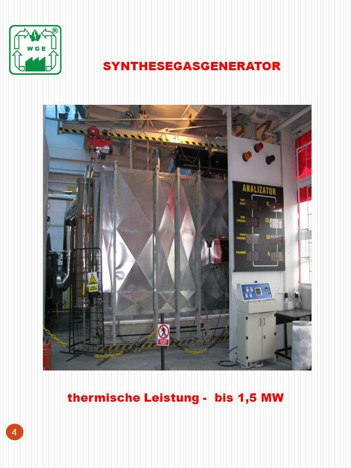 Die technologische Linie Hydraulische Station 15