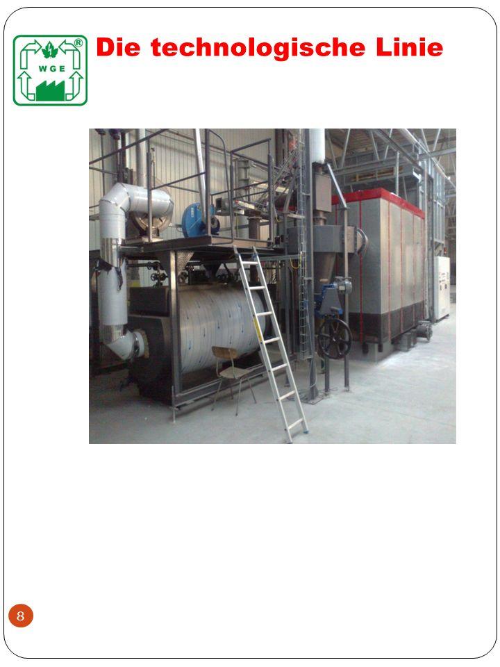CHAMPIGNON- NÄHRBODEN Heizwert < 10 MJ/kg Aschegehalt bis 20 % Feuchtigkeit bis 35% Brennstoffverbrauch bei Leistung 1 MW ca.