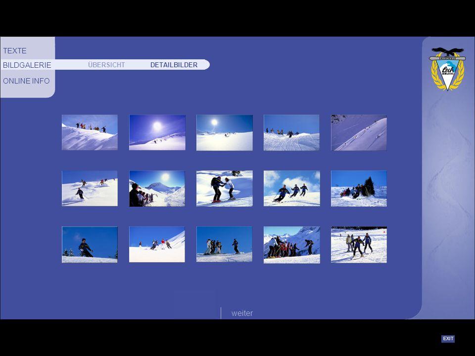 EXIT zurückweiter FAMILIENKARTE:Beim Besuch der Skischule von 2 Erwachsenen und 2 Kindern einer Familie (Kinder bis 16 Jahre) ist der Skischul-Besuch