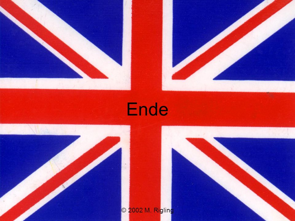 Ende © 2002 M. Rigling